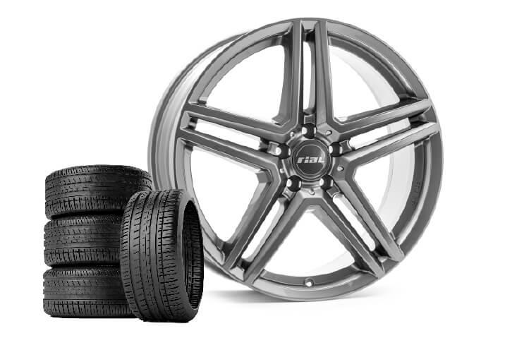 Rial M10 metal grey Radsatz-Angebot