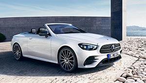 Mercedes-Benz E-Klasse Cabrio 2020 weiß